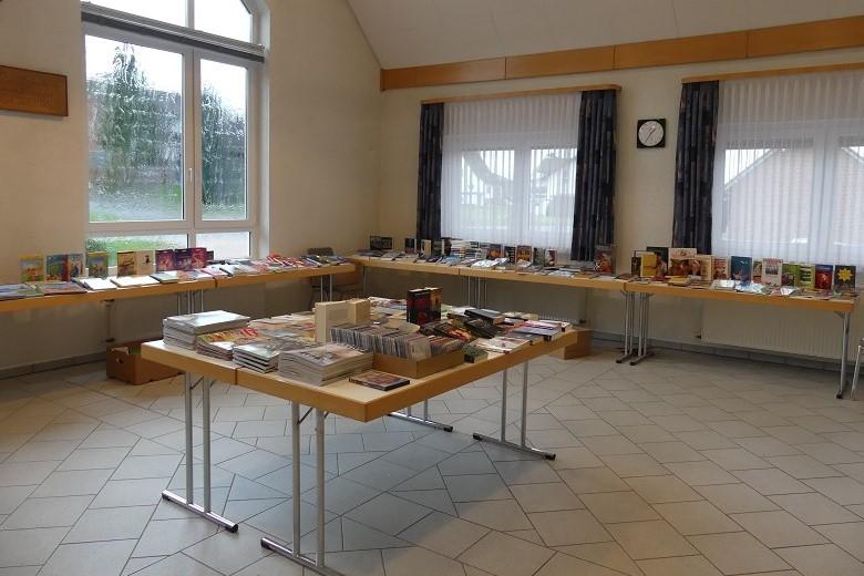 Bilder vom Büchereifest 2019 im Pfarrheim Gernsdorf